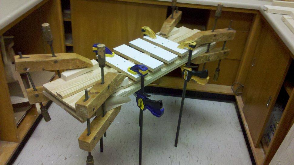 longboard in the making