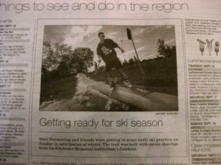 Made the paper
