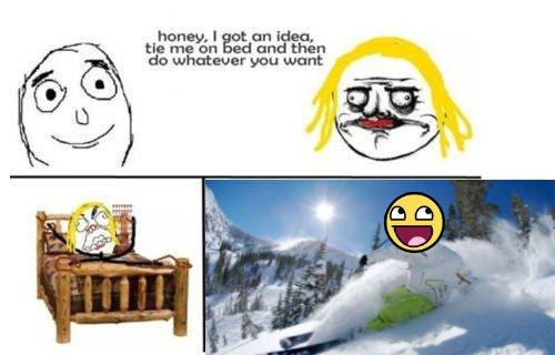 Skier Meme