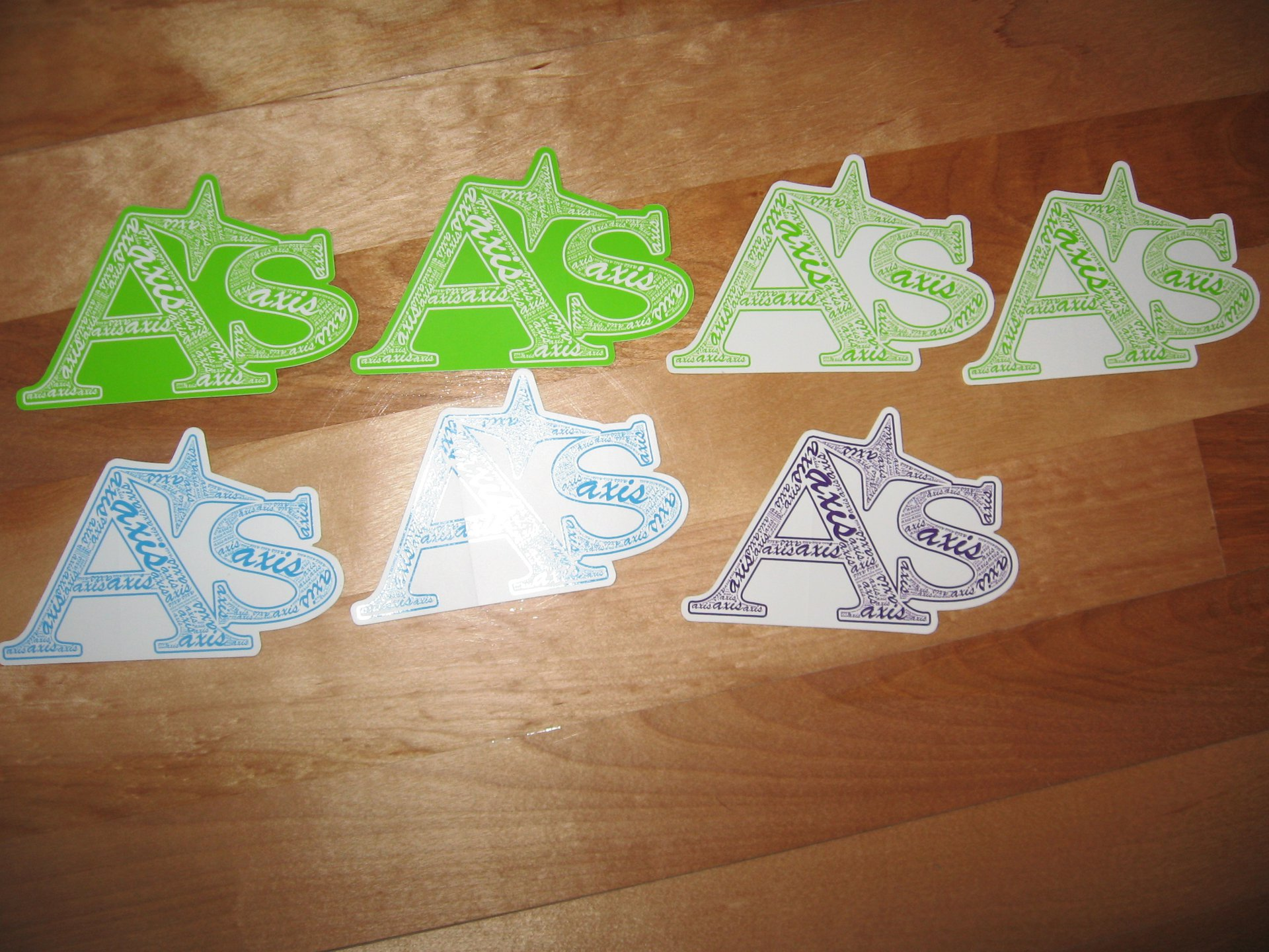 old stickers