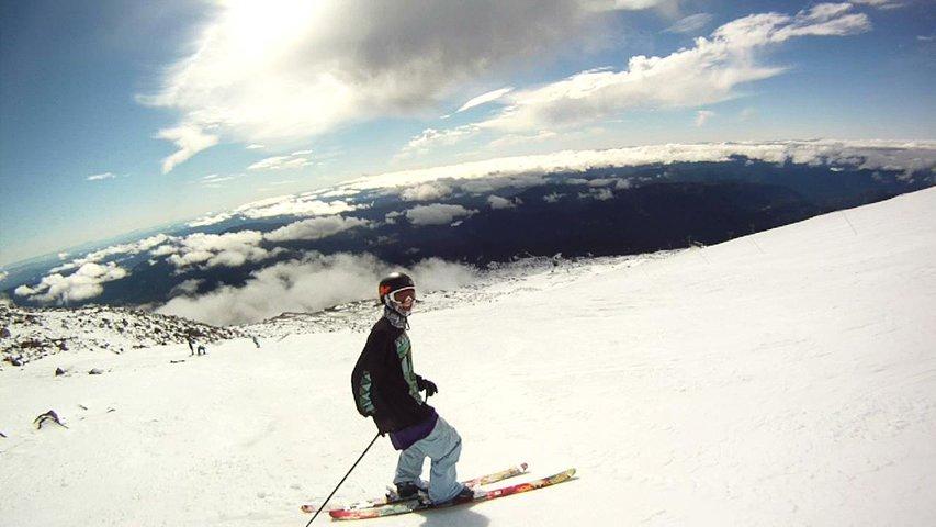 October skiing