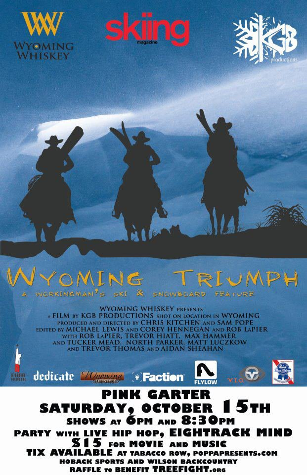 Wyoming Triumph Poster