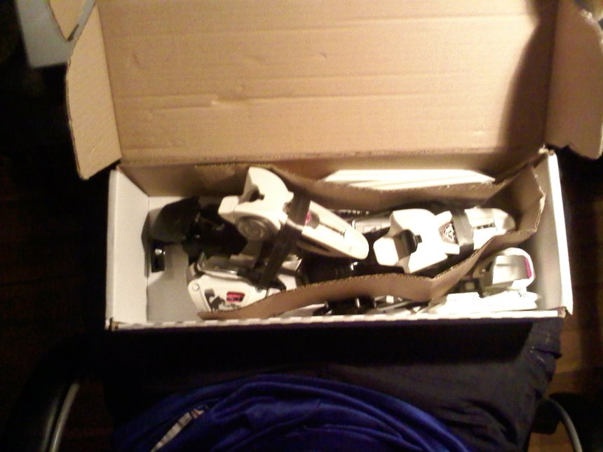 Brand New '10/'11 Marker Griffon Bindings! Two Pairs, Wide brakes... in box!