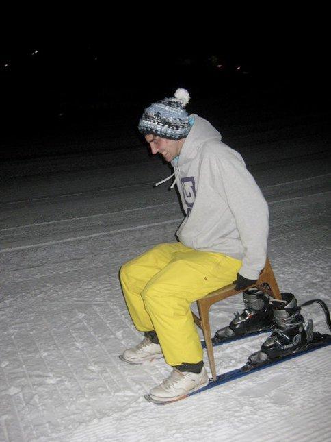 Chair Skiing