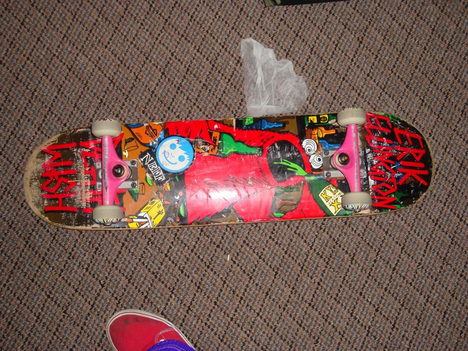 Death Wish board