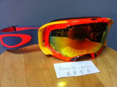 Oakley Splice Fire Iridium Lens