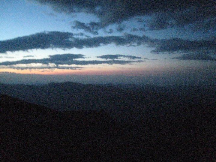 Sunrise on Washingotn