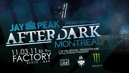 After Dark Montreal Front