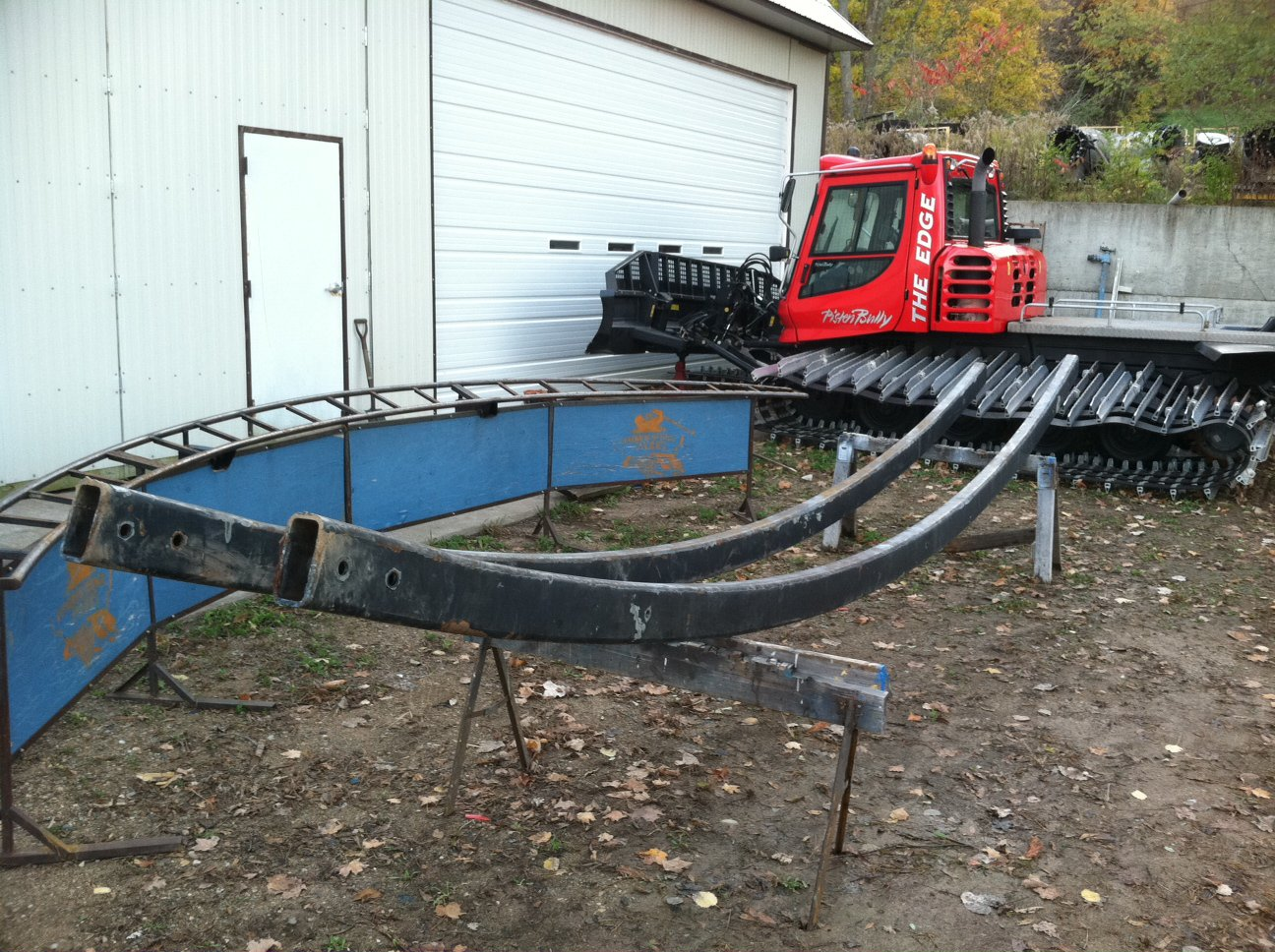 New Rocking Horse Rail