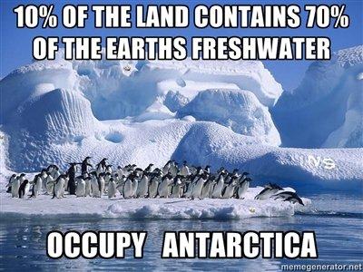 Occupy Antarctica