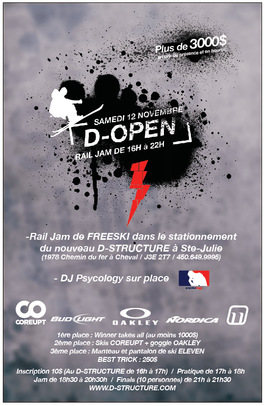 D-open Jam session 12 Nov .