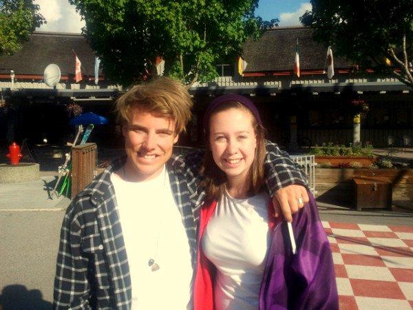 Met Jossi Wells (my skiing idol) this summer in Whistler!