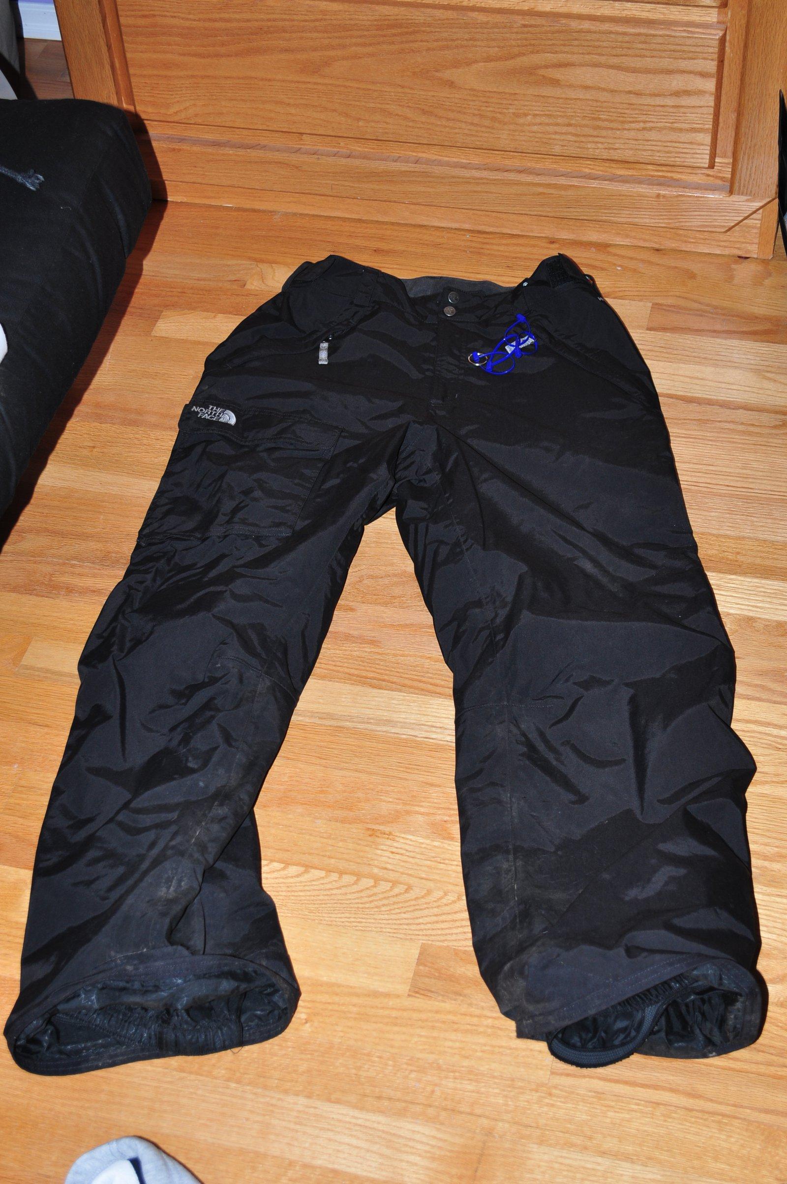 North Face Black Pants