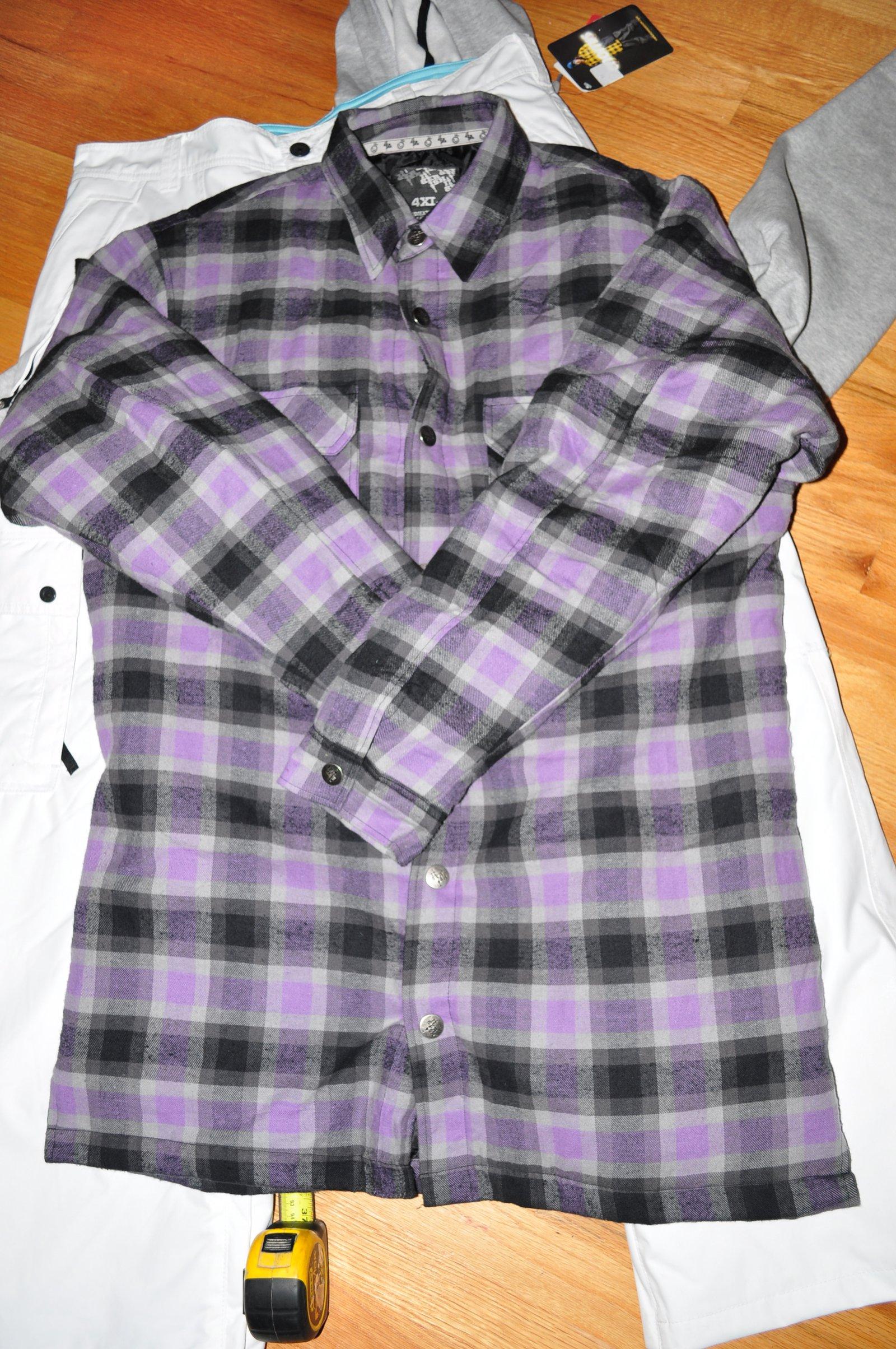 Jiberish Royal Flannel 4XL