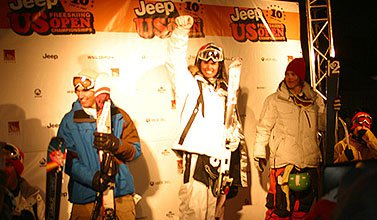 Jon on top in Open Slopestyle