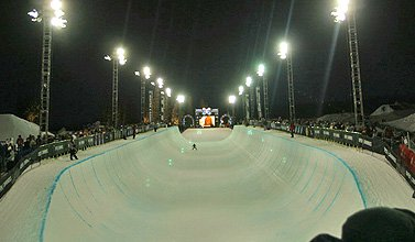 Tanner Hall, Sarah Burke win X Games Superpipe (Updated with more photos!)