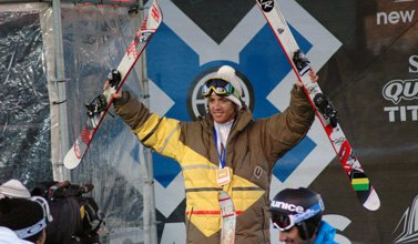 Candide comes from behind in X Slopestyle