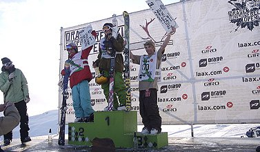 PK Hunder wins European Open Slopestyle