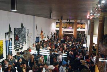 Eric Pollard's Art Opening