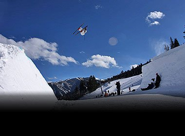X-Games Slopestyle Practice