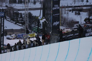 X-Games Women's Superpipe