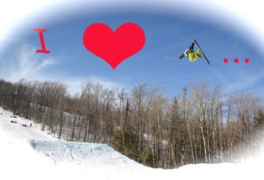 Love and Skiing