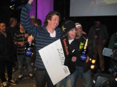 Sammy Carlson wins JOSS