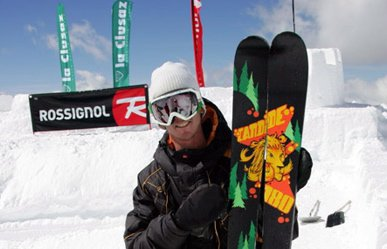 Candide Thovex signs with CoreUPT