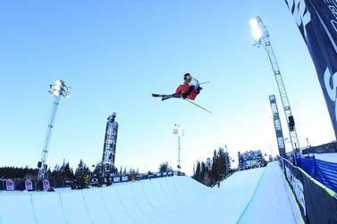 X Games Ski Superpipe Elimination
