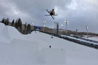 X Games Ski Slopestyle Practice Day 1