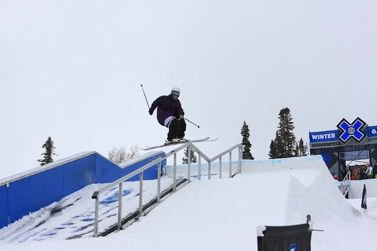 X Games Ski Slopestyle Practice Day 2