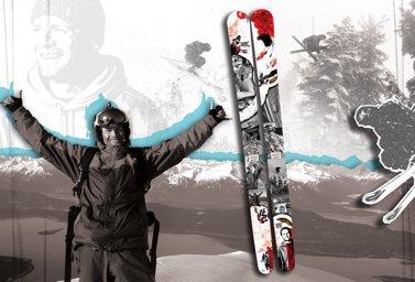 Shane McConkey Tribute Ski