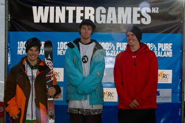 Winter NZ Games Slopestyle