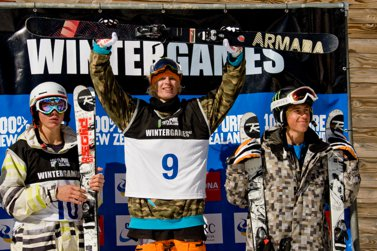 Winter NZ Games Halfpipe