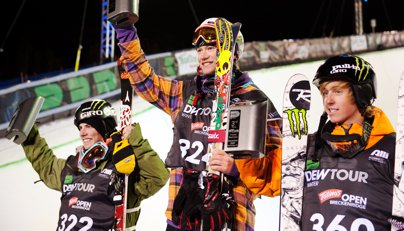 Dew Tour Ski Superpipe Finals