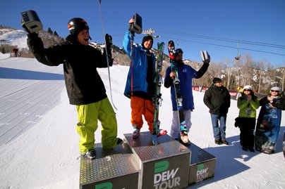 Dew Tour Ski Slopestyle Finals