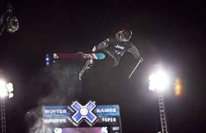 X Games Women's Ski Superpipe Prelims