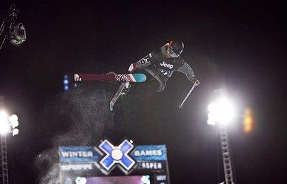X Games Women's Ski Superpipe Prelims