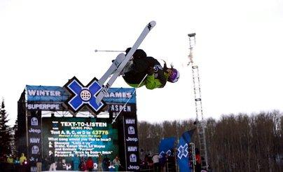 X Games Women's Ski Superpipe Finals