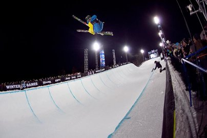 X Games Men's Ski Superpipe Prelims