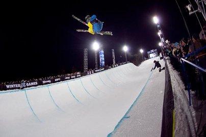 X Games Men's Ski Superpipe Prelims