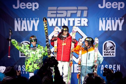 X Games Men's Ski Superpipe Finals
