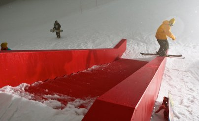 Red Ledge Jam in Greatest Hits Park at Mt. Seymour