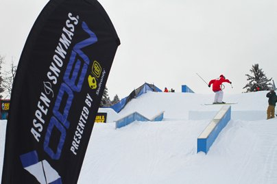 Aspen Open Men's Ski Slopestyle Qualifiers