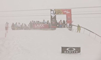 European Open Ski Superpipe Finals Canceled