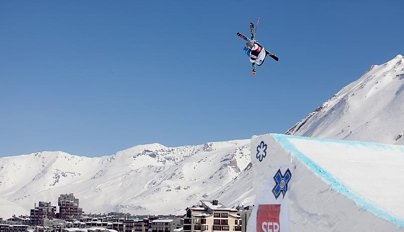 European X Games Ski Slopestyle Elimination