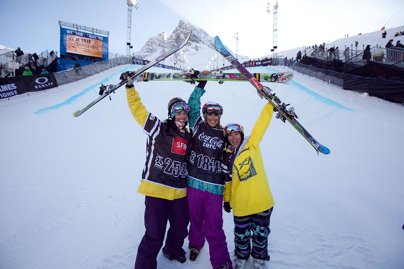 European X Games Women's Ski Superpipe Finals