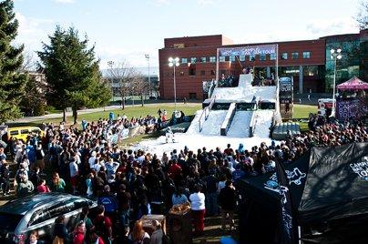 Campus Rail Jam Tour Spokane