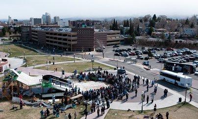 Campus Rail Jam Tour Reno