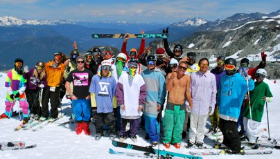 Newschoolers Week at Camp of Champions